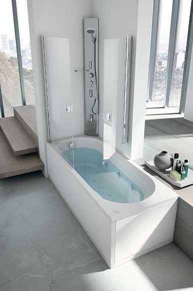 Vasche stedil srl vendita e commercio all 39 ingrosso e al dettaglio di materiali edili stufe for Vasche da bagno con doccia