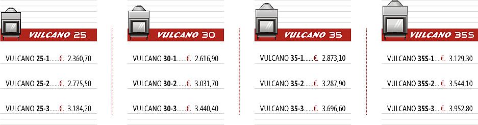 Vulcano termocamini stedil srl vendita e commercio all for Termocamini vulcano rivenditori